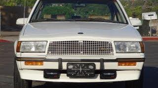 Cadillac Cimarron D'Oro Video Review Walkaround V6 Luxury Sedan 1 Owner 38,000 Miles