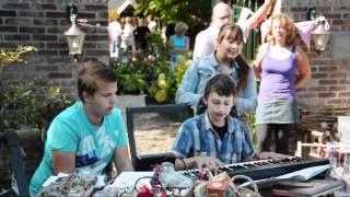 Tuinconcert en kunst bij De Oude Walnoot (nazomerfeesten Sint Pancras 2010)