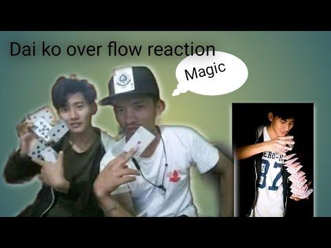 Reaction With Makalu Flow Card Magic