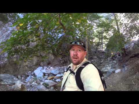 Cucamonga wilderness hike to hidden waterfall