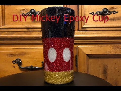 DIY Mickey Cup Tutorial and Giveaway