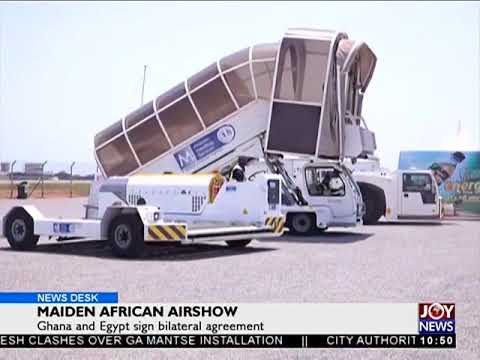 Maiden African Airshow - Business Desk on Joy News (26-10-17)