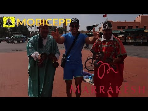 MOBICEP IN MARRAKECH #Vlog 8