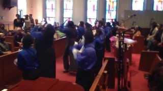 "Ebenezer Mine Ministry dance to ""I'll Never Be The Same"" by Shana Wilson ft Tasha Cobbs"