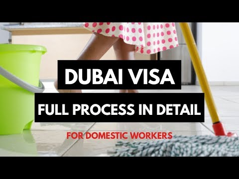 UAE Employment Visa Laws Changed | Rights of Domestic Workers | Tadbeer Centers Dubai, UAE