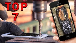 TOP 7 nejšílenějších experimentů s mobilníma telefonama