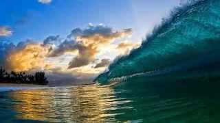 Красивые гавайские волны