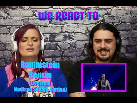 Rammstein - Benzin (Live from Madison Square Garden) First Time Couples React