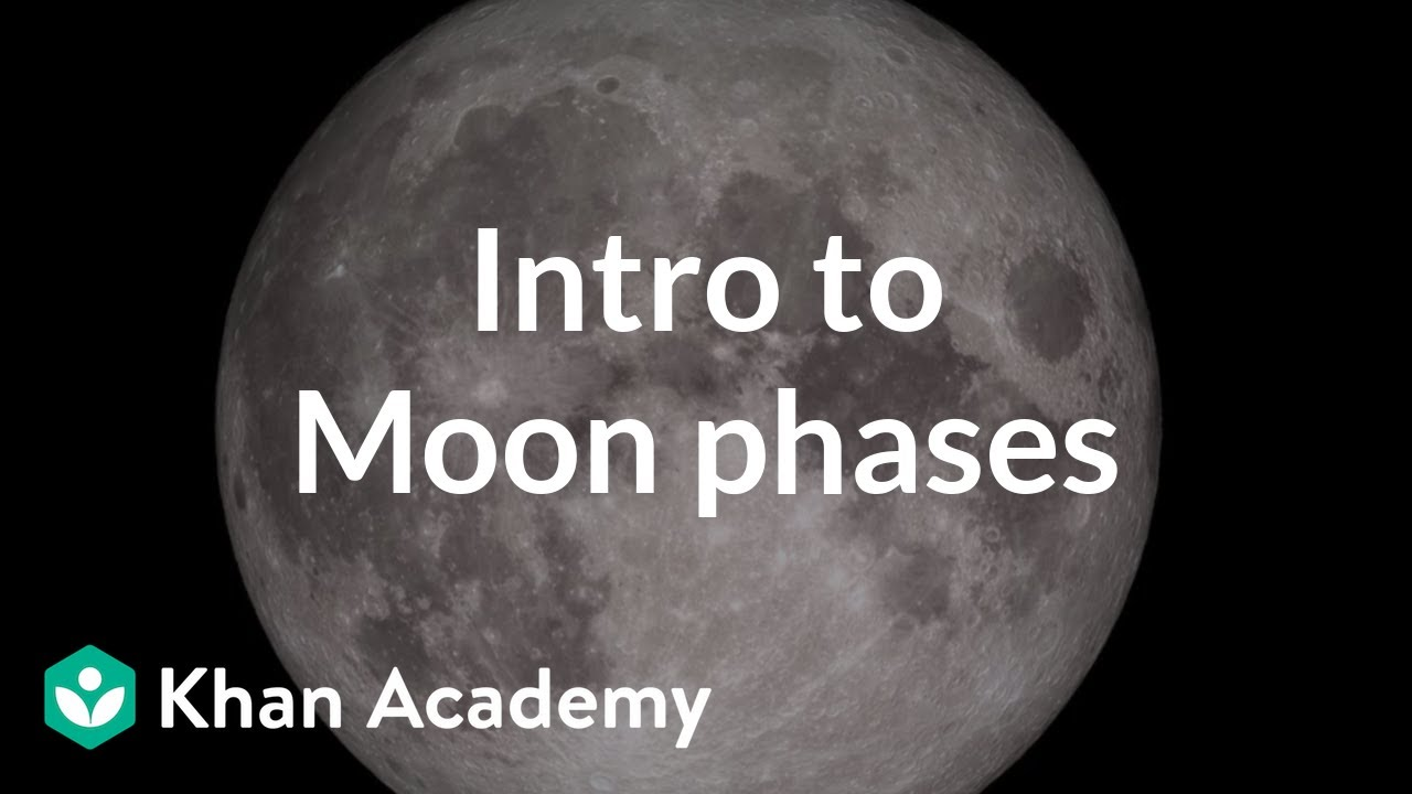 medium resolution of Intro to Moon phases (video)   Khan Academy