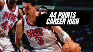 Drazen Petrovic 44 pts VS Houston Rockets [+Interview with Drazen]