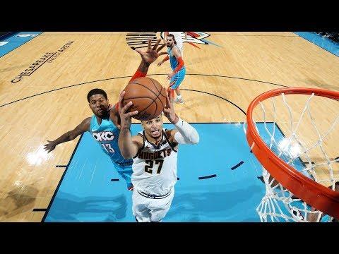 NBA Denver Nuggets vs Oklahoma City Thunder   Nov 24,  2018