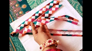 Multi-color Applique Strip Tutorial/ Dress Designing 2018