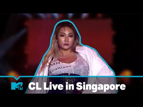 CL - 'Hello Bitches' | Live In Singapore | MTV Asia