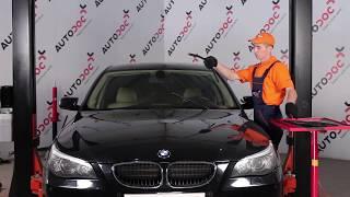 Монтаж на задни и предни Задна чистачка на BMW 5 SERIES: видео наръчници