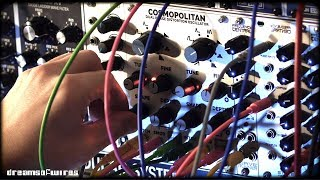 Intellijel Plonk & Moseley Cosmopolitan dual phase distortion oscillator (Eurorack modular)