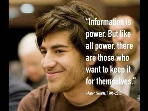 The Internets Own Boy - The Story of Aaron Swartz