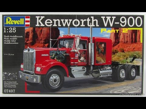 Kenworth W900 Build Part 2