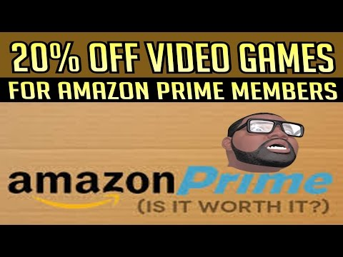 20% OFF of Video Games for Amazon Prime Members!