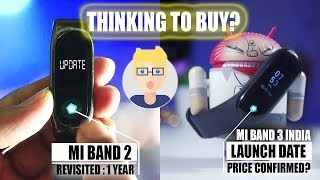 [LEAKS] Xiaomi Mi Band 3 Price & First Flash Sale in India Confirmed? vs Mi Band 2
