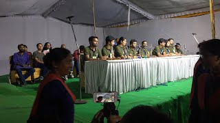 JNU Presidential Debate 2018   JNU ELECTION 2018   ABVP   LEFT   PART-1