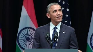 President Obama Addresses the People of India