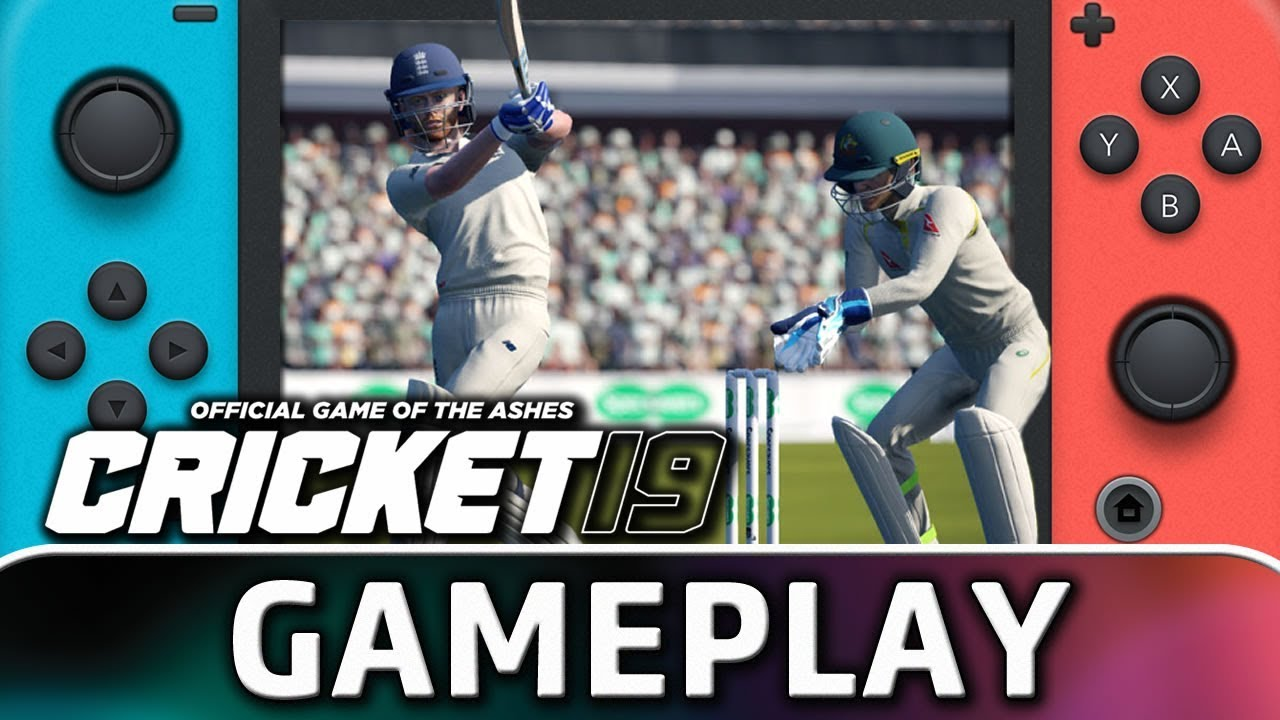 Cricket 19 First 10 Minutes On Nintendo Switch