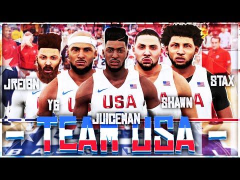 MyCareer Olympics #1 | The Scrimmage: New Era Vs NBA All Stars | NBA 2k16 | JuiceMan