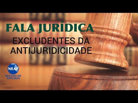 Fala Jurídica Excludentes da Antijuridicidade - YouTube