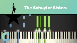 Hamilton - The Schuyler Sisters Piano Tutorial