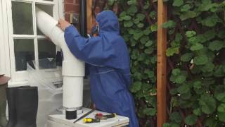 Sutton Coldfield Asbestos Cement Flue Pipe Removal