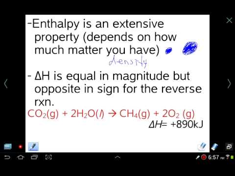 Mr z ap chemistry chapter 5 lesson 2 enthalpy and delta h for Delta h table chemistry