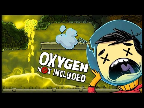 Oxygen Not Included - FLOODING OUR BASE WITH CONTAMINATED WATER! Ep 8