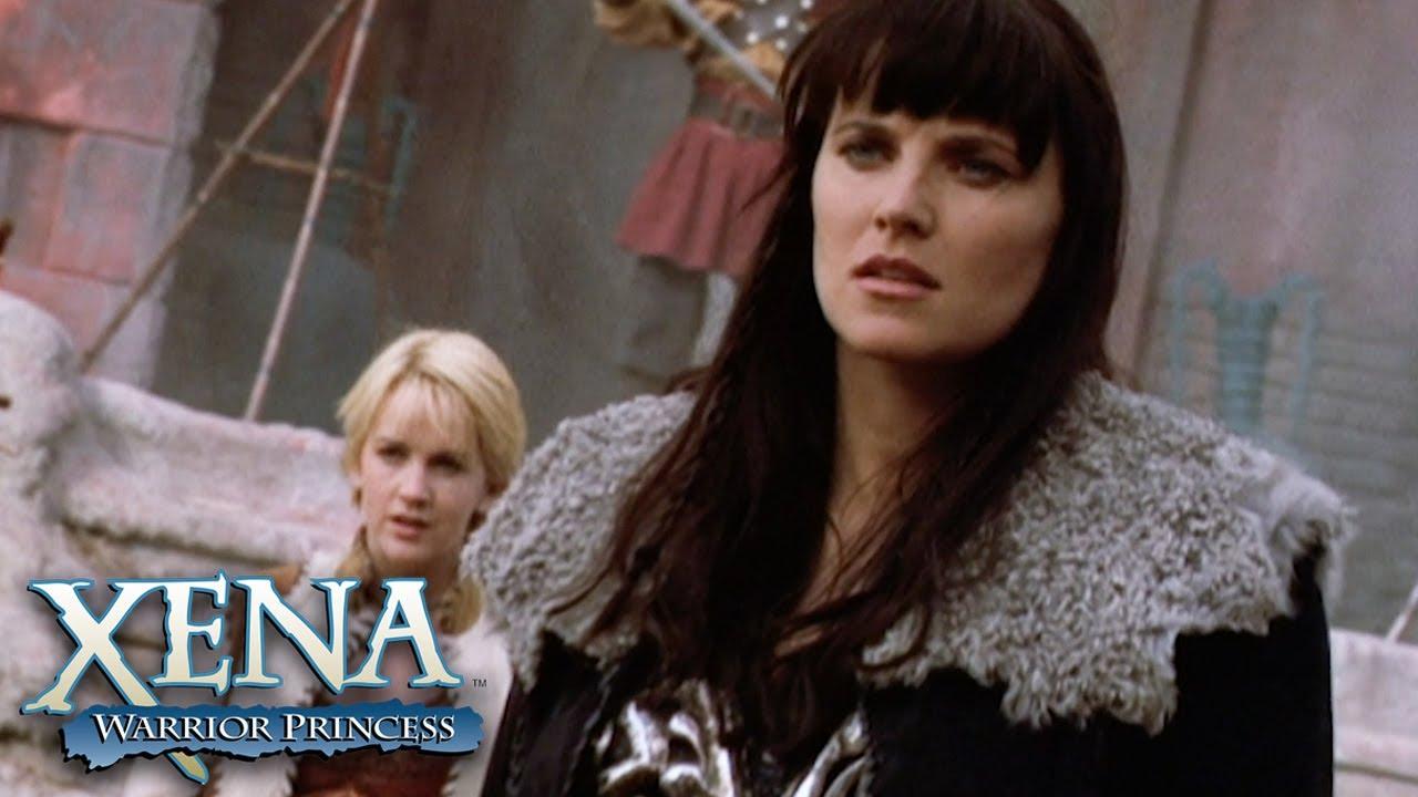 Download Xena and Gabrielle Battle Alongside Lao Ma's Daughter   Xena: Warrior Princess