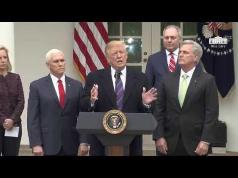 President Trump Delivers Remarks