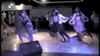 "Lindy Hop Routine ""Lindy Chorus""【Frankie 100 in Tokyo】"