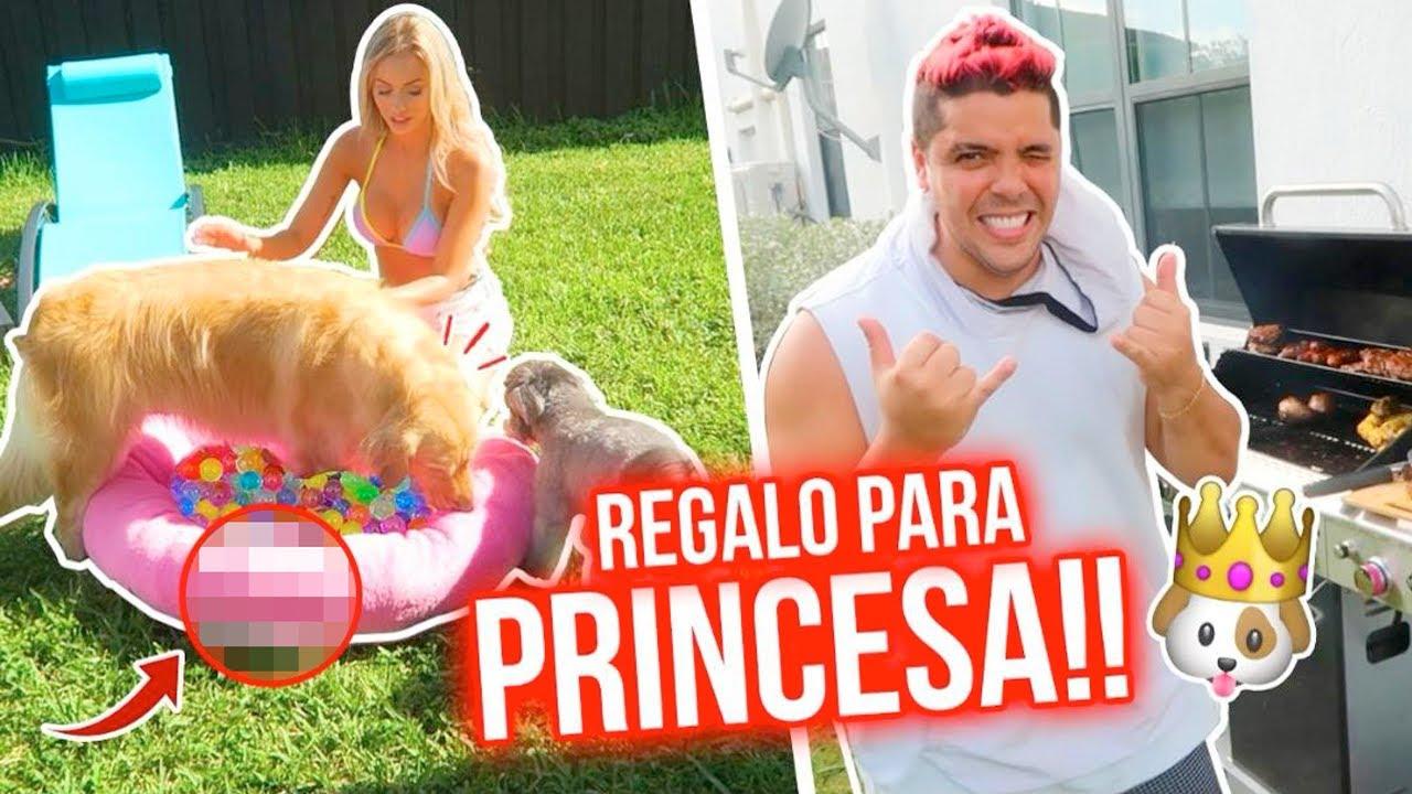 REGALO SORPRESA PARA PRINCESA!!!😱🐶💕 ASÍ REACCIONÓ!!!😳  | 22 Ago 2020