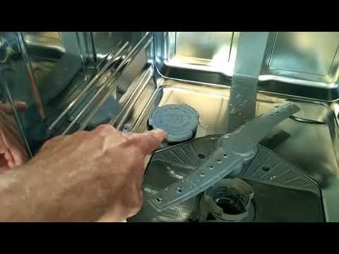 Как установить жесткость воды в посудомойке