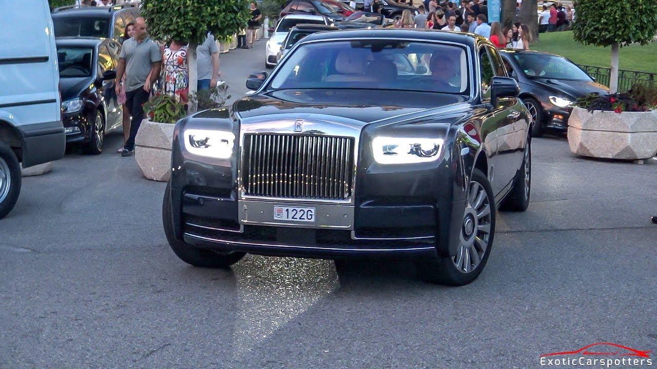 2018 Rolls Royce Phantom 8 Driving in Monaco ! - YouTube