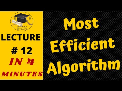 The Most Efficient Sorting Algorithm