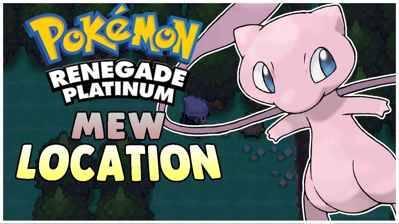 how to get a mew in pokemon platinum