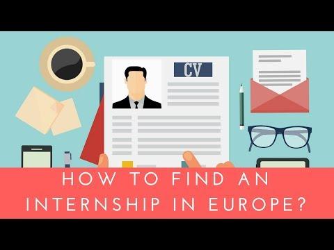 Avropada Təcrübə | Internship in Europe