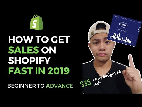 How To Make Sales Fast With Shopify in 2019 | Beginner To Advanced Dropshipping | $35 Budget thumbnail