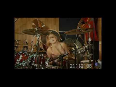 "PANDORUM's ""Showdown"" Hannah Ford (drums) Frank Lu..."