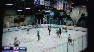 Matthew Brzozowiec RMU Peoria Eagles - goal vs. Augustana 11/19/16