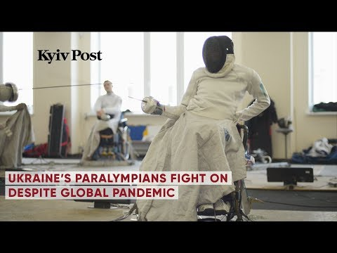 Ukraine's Paralympians fight on despite global pandemic