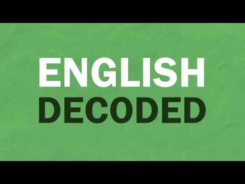 English Decoded | C/K Rule