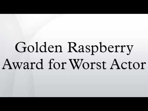 Golden Raspberry Award for Worst Actor