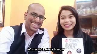 Malaysia's Celebrity Wani Kayrie Learns to Speak Mandarin