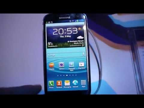 Galaxy S III: TouchWiz Nature UX Overview