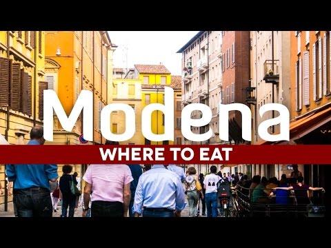 Italian Food: Where in Eat to Modena Italy